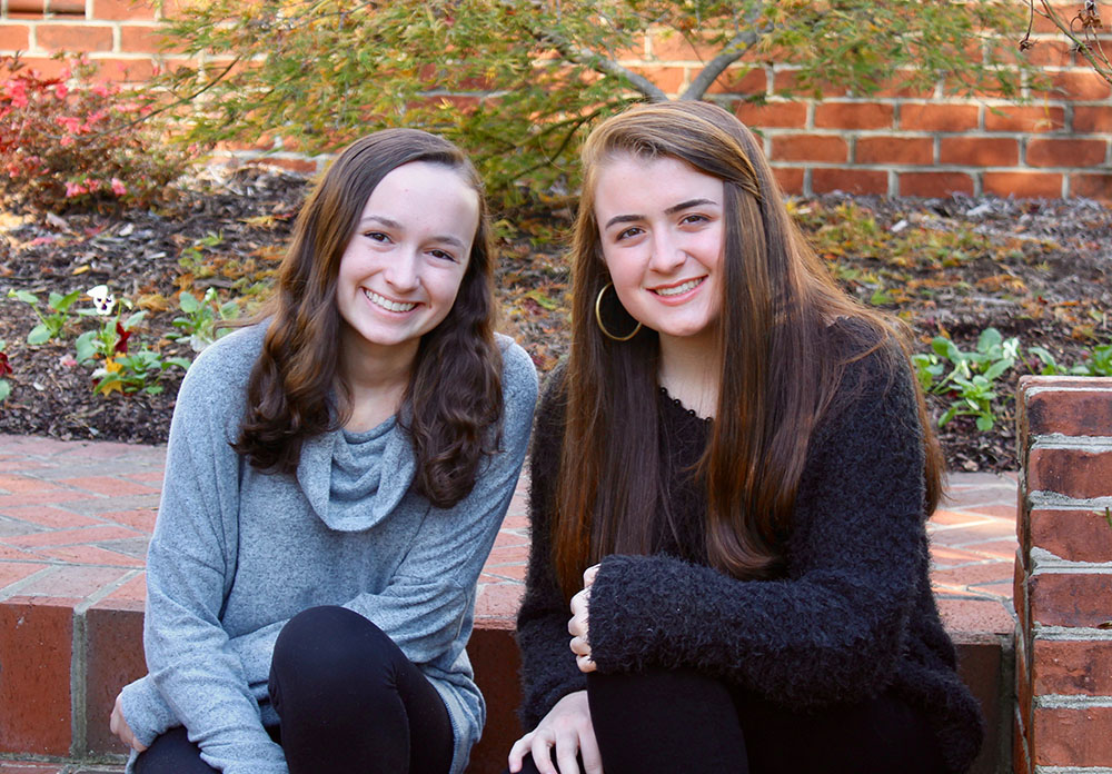 Co-Founders Isabelle Ginn and Allie Valaoras